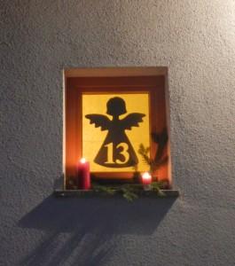 13.Dezember, Adventfenster