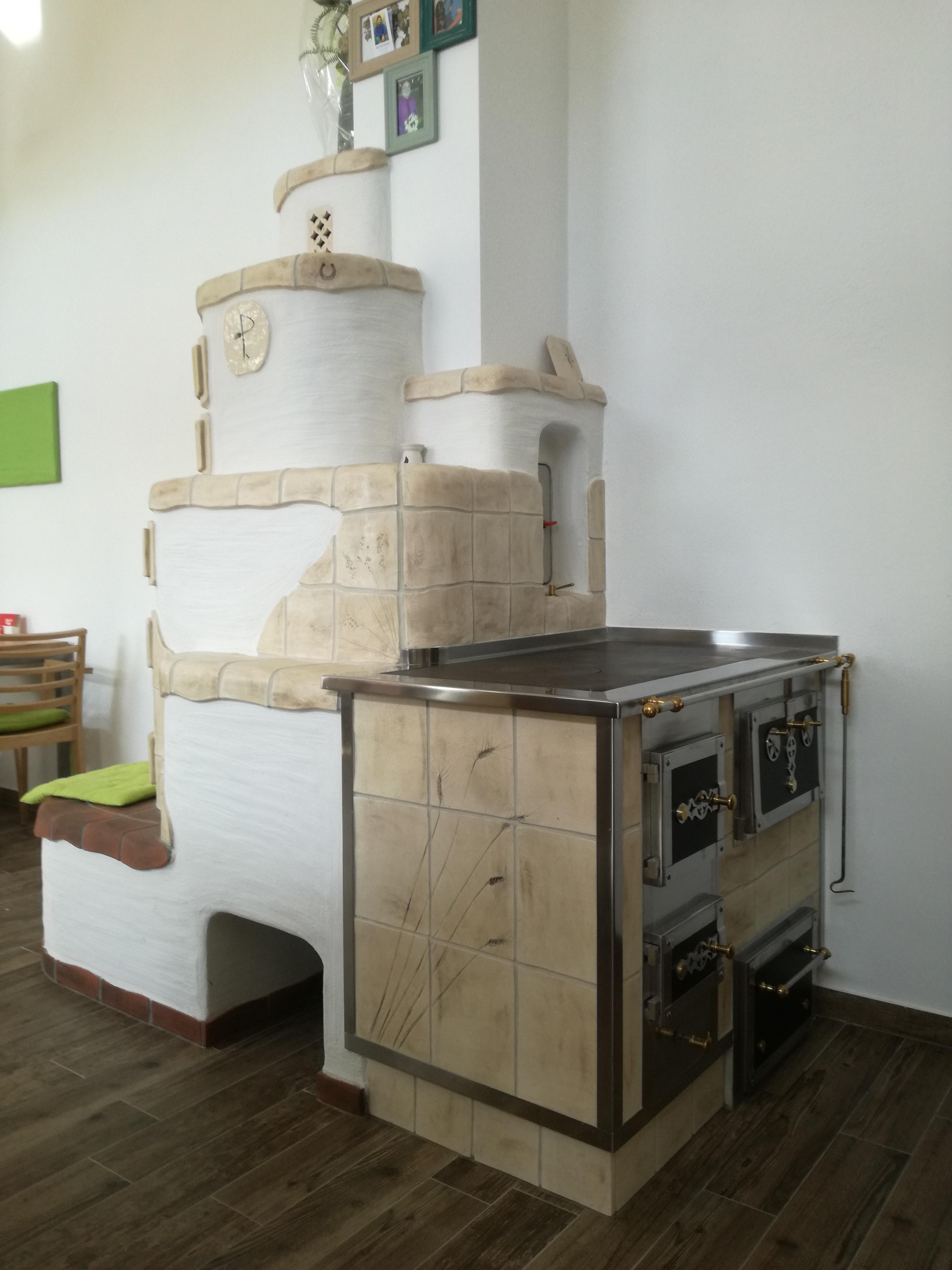 Kachelofen+Küchenherd