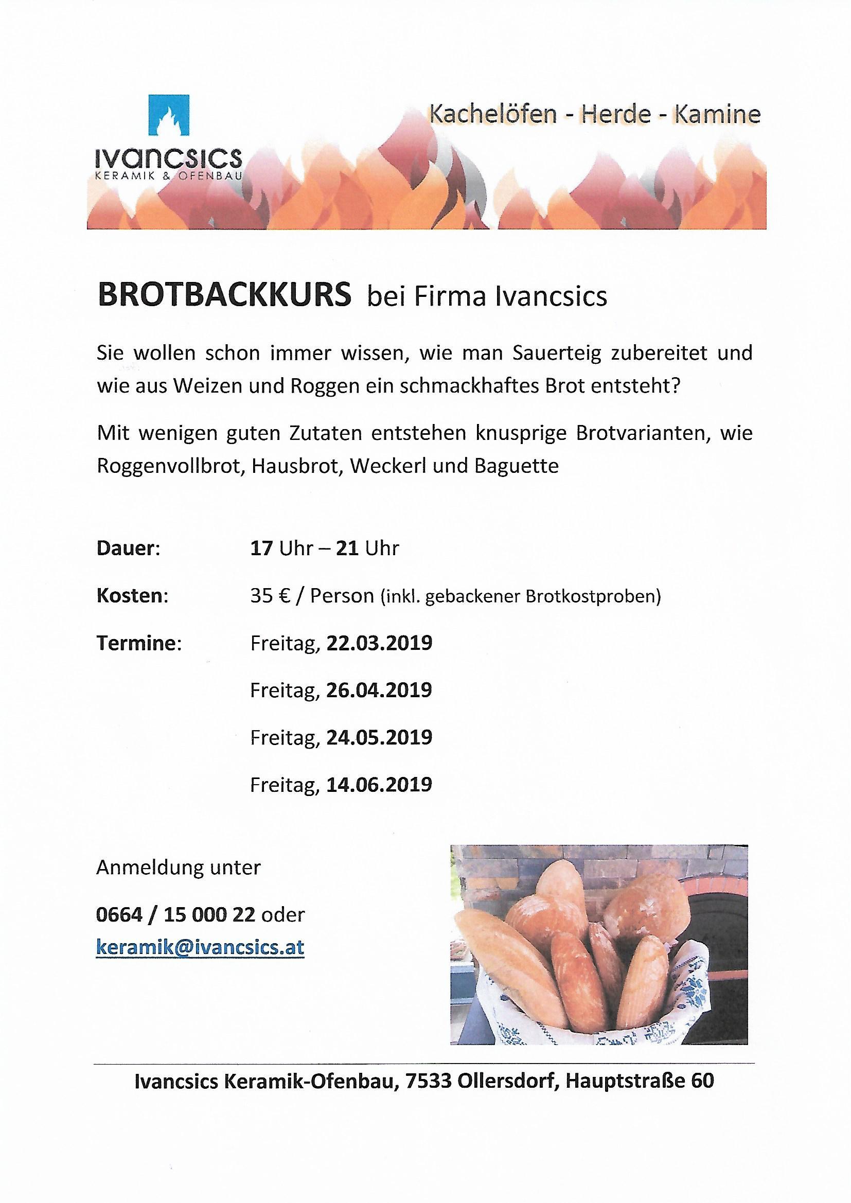 2019-Brotbackkurse